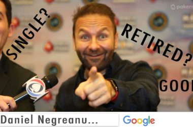 Daniel Negreanu is…Doing an Autocomplete Interview