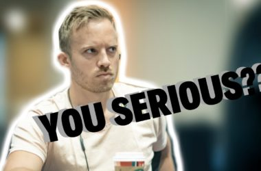 Qualifier Asks Martin Jacobson What is His Biggest Cash!?