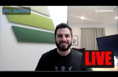 LIVE PN Pod: Phil Galfond Reveals on RunItOnce & Poker's Biggest Threats