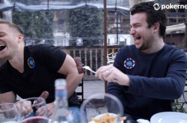 Poker Players Try Traditional Romanian Food at One of Best Restaurants | Videos