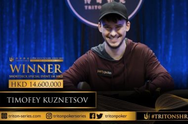 Triton Poker Last-Minute HK$1M NLHE Short Deck Event won by Timofey 'Trueteller' Kuznetsov for $1.8M