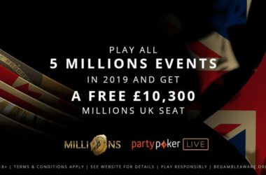 partypoker rewards Loyalty with a Seat to MILLIONS UK in 2020